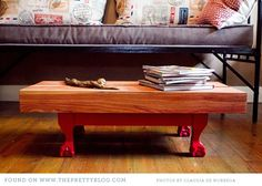 ball and claw wooden coffee table Young Designers, Wood Slats, Home Decor Inspiration, Painted Furniture, Living Room Decor, Sweet Home, House Design, Table, Cape Town