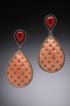 Enamel Earring Drops