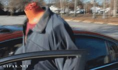 The headless drive-through prank from MagicofRahat: | The 23 Greatest Pranks Pulled In 2013