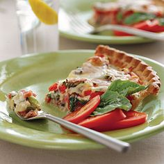 28 Ways with Fresh Tomatoes - Ham-and-Tomato Pie Recipe - Southern Living