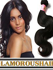"3 pcs/lot 8""-34"" Brazilian Virgin Remy Hair Natural Black Color #1b ... – USD $ 55.50"