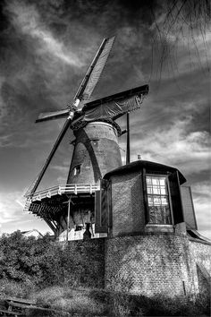The windmill and teadome so beautifully photographed by Cassy Hoevenagel