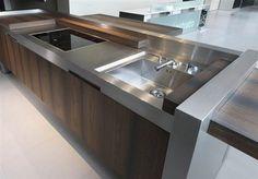 Cozinha Moderna de Aço