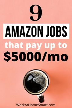 Searching for the best Amazon jobs at home to earn money online? Grab this list of 9 high paying work from home Amazon jobs for 2021. Amazon Jobs At Home, Amazon Work From Home, Work From Home Companies, Work From Home Jobs, Companies Hiring, Earn Money Online, Searching, Business, Make Money Online