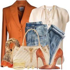 Boyfriend Jeans & Blazer