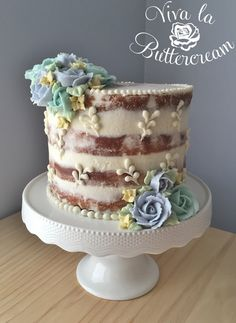 Youtube Icing Semi Naked Cake
