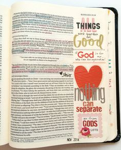 Illustrated Faith | Debby Schuh | Using scrapbook materials in a journaling Bible