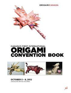 Canada convention 2012 Vancouver, Origami Books, British, Canada, Kirigami, Author, Washi, Simple, Bird