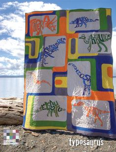 Carolina Patchworks--Typosaurus #quilt pattern just found the quilt I am going to make Caiden!