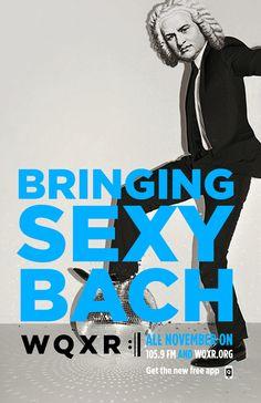 Bringing Sexy Bach. #Bachstock #JustinTimberlake #Bach #WQXR #Bachpun