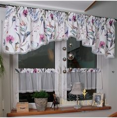 Valance Curtains, Diy And Crafts, Shabby Chic, Interior Design, Kitchen, Home Decor, Decorating Small Houses, Cover, Windows