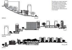 Conjunto Habitacional Real Parque, em São Paulo, reformula área de 44.500 mil m² e inclui infraestrutura de serviço e creche. Projeto do Escritório Paulistano de Arquitetura :: aU - Arquitetura e Urbanismo