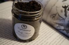 Cafeomancy is the art of fortune telling by reading coffee grinds. This aromatic coffee scrub is definitely for the die hard coffee lover. The skin benefits Caf