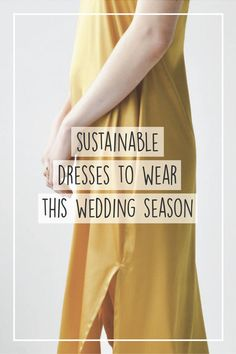 30 Sustainable Dresses, Shoes, and Jewelry To Wear This Summer Wedding Season Fashion Mode, Fast Fashion, Slow Fashion, Ethical Fashion Brands, Ethical Clothing, Sustainable Clothing, Sustainable Fashion, Sustainable Style, Sustainable Living