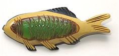 Bakelite fish brooch- the Bakelite Museum