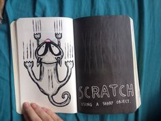 My wreck this journal- Scratch this page