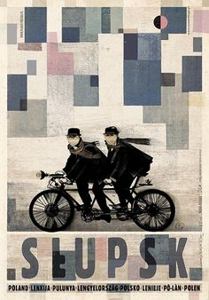 Słupsk, plakat z serii Polska, Ryszard Kaja