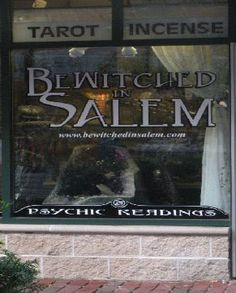 Betwitched in Salem Shop, Salem, Ma. and link to other shops.