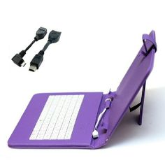 Hooshion® 8 Inch USB Keyboard Leather Case Cover With Stand For Samsung Galaxy Note 8.0, 8 inch Android Tablet Pc+Micro OTG Adapter+Mini 5 pin OTG Adapter (Purple) Hooshion,http://www.amazon.com/dp/B00HCBSQ06/ref=cm_sw_r_pi_dp_6PkWsb13PV5CWD50