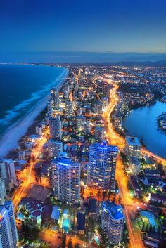 Gold Coast, Queensland. | Stunning Places #Places