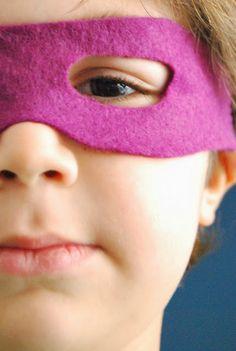 Faire des masques avec de la feutrine et un élastique: simple, efficace, confortable!