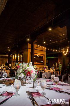 Moulin Events St Louis Wedding Reception Rustic Brewery Centennial Ballroom