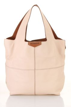 Givenchy Small George V Tote In Natural & Camel - Beyond the Rack