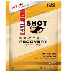 Clif Bar Orange Mango Protein Recovery Drink