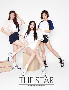 Nine Muses - The Star - April 2015 Issue