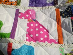 Dog Quilt-Baby quilt-Lap quilt-Playmat-Boy or girl quilt-Crib