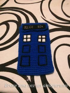 TARDIS mobile case