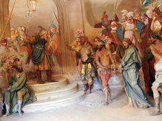 #sacrimontisocial Cappella 24 - Gesù al tribunale di Anna