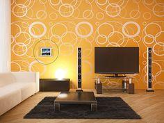 En güzel dekorasyon paylaşımları için Kadinika.com #kadinika #dekorasyon #decoration #woman #women orange interior design