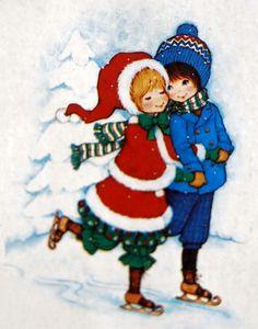 La señorita de la enagua de Navidad ILUSTRACIONES Infantiles
