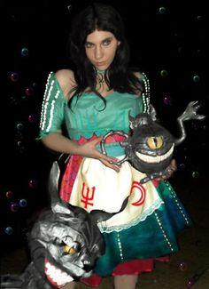 Alice Liddell Madness Returns Siren dress cosplay costume handma, New Arrival Costumes, Cosplay Costumes Alice Cosplay, Cute Cosplay, Cosplay Costumes, Alice Liddell, Alice Madness Returns, Halloween Fun, Geek Stuff, Wonder Woman, Superhero