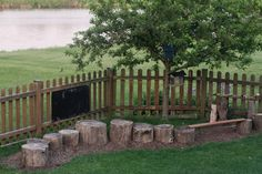 Living With Kids: Lesli Gresholdt. This is exactly what I've had in mind for our yard!