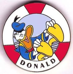 Walt Disney's Donald Duck -  100th Year -(Life Preserver) LE Pin