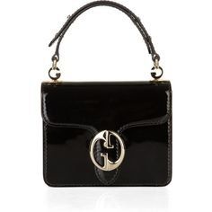 Gucci 1973 patent-leather bag | Bags Purse Blog ❤ liked on Polyvore