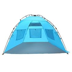 EasyGoTM Shelter u2013 INSTANT Easy Up Beach Tent Sun Sport Shelter u2013 Sets up in Seconds  sc 1 st  Pinterest & Lightspeed Outdoors Quick Canopy Instant Pop Up Shade Tent. For ...