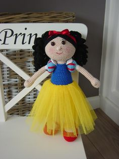 Snow White designed by Philia .. Pattern coming very soon
