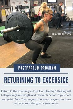 RETURNING TO EXERCISE POSTPARTUM Your A-Z Guide For the First 16 Weeks Postpartum This Essential Guide Gives You: A game plan to progress you from the early postpartum days back to your regular workouts 2 core workout videos to help rebuild your strength and stability  Red flags to watch for as you begin exercise again Diastasi recti assessment walk through  7 stretches for the early postpartum days. #postpartumprogram #postpartumworkout #postpartumfitness Diastasis Recti Exercises, Pelvic Floor Exercises, Postpartum Workout Plan, Postpartum Care, Workout Guide, Workout Videos, 16 Weeks, Fit Board Workouts, Assessment