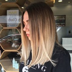 Ombre 51 Likes, 1 Comments - Lauren Layzell - The Parlour (The Parlour Jersey) on Inst. , 51 Likes, 1 Comments - Lauren Layzell - The Parlour (The Parlour Jersey) on Inst. 51 Likes, 1 Comments - Lauren Layzell - The Parlour (The Parlour J. Balayage Straight Hair, Balayage Hair, Hair Dye Colors, Ombre Hair Color, Medium Hair Styles, Short Hair Styles, Brown Ombre Hair, Hair Color And Cut, Straight Hairstyles