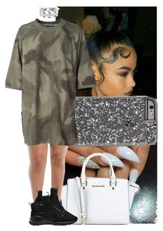 """Untitled #642"" by msixo ❤ liked on Polyvore featuring MICHAEL Michael Kors, adidas Originals, Fallon and Puma"