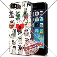 Pug iPhone 5 case for iPhone 5 and 5S Case Cool Smartphon... https://www.amazon.com/dp/B01J81DUXU/ref=cm_sw_r_pi_dp_x_b8pfzbP5685T2