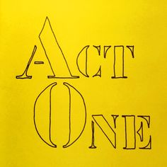 Act One, a published book of Poems by George Murray | George Murray, Poet Orange Book, Book Of Poems, Letter Stencils, Book Title, Poet, Inspire Me, Love Him, Acting, Words