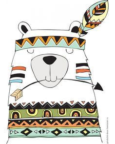 Trible bear