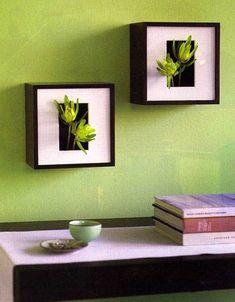 Add some meditative decor to the spirit of your home by making your own living art #diy #home