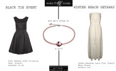 We love Coeur de Lion's K 4379 Necklace. Here's how we'd style it with #JustFemale and #BooHoo clothing. #outfit #outfitideas