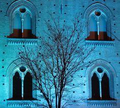 blue castle of Pavia