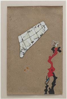 Joan Miró  (Spanish, Barcelona 1893–1983 Palma de Mallorca) | Collage Painting | 1934